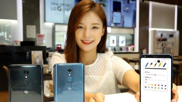 Представлен бюджетный вариант LG V35 ThinQ