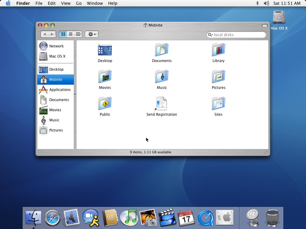 История развития и стандартные обои со всех версий macOS11