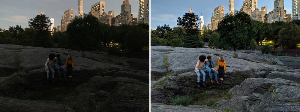 Google выпустила режим ночной съёмки Night Sight для всех смартфонов Pixel2