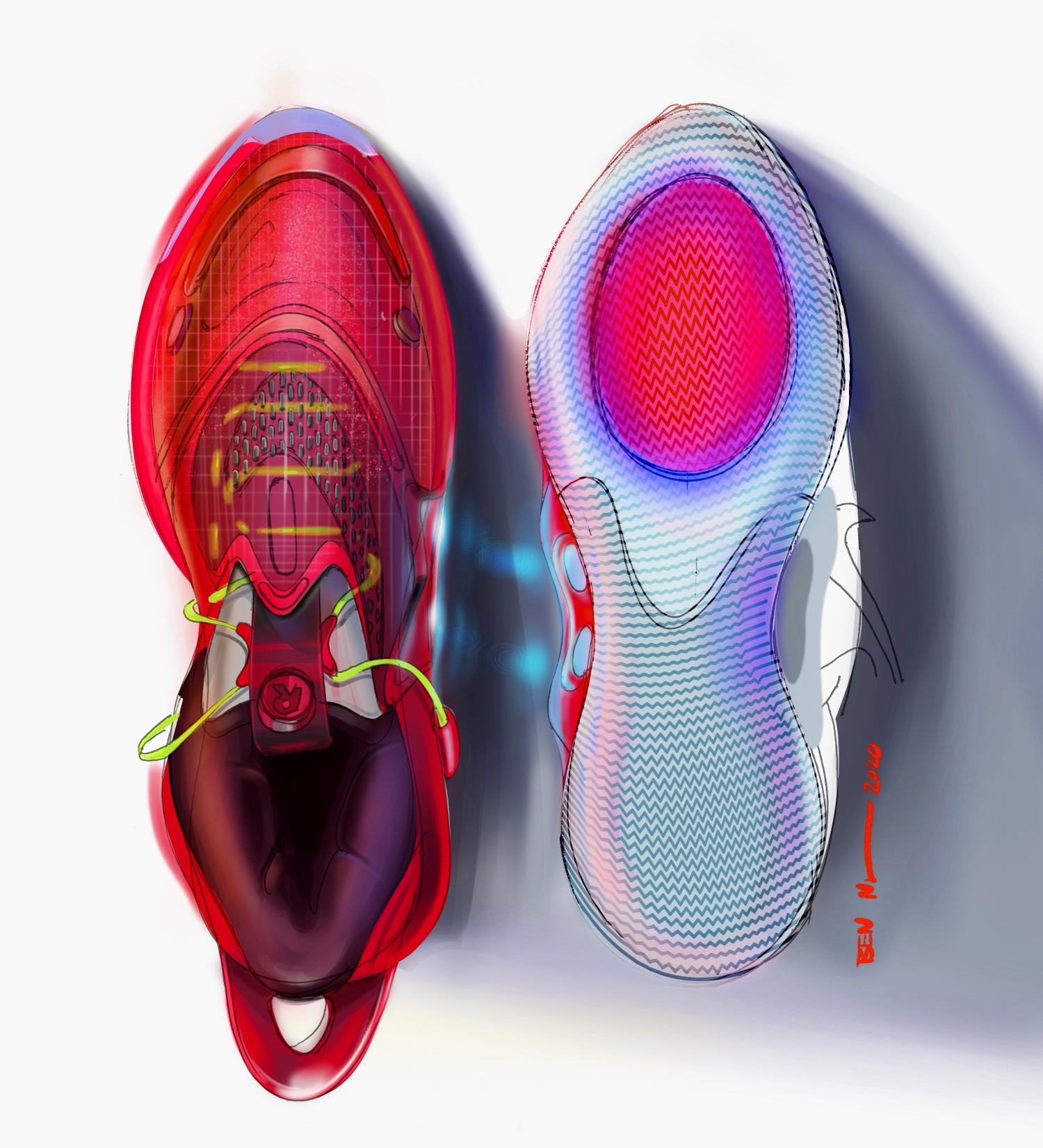 Nike представила второе поколение умных кроссовок Adapt BB2
