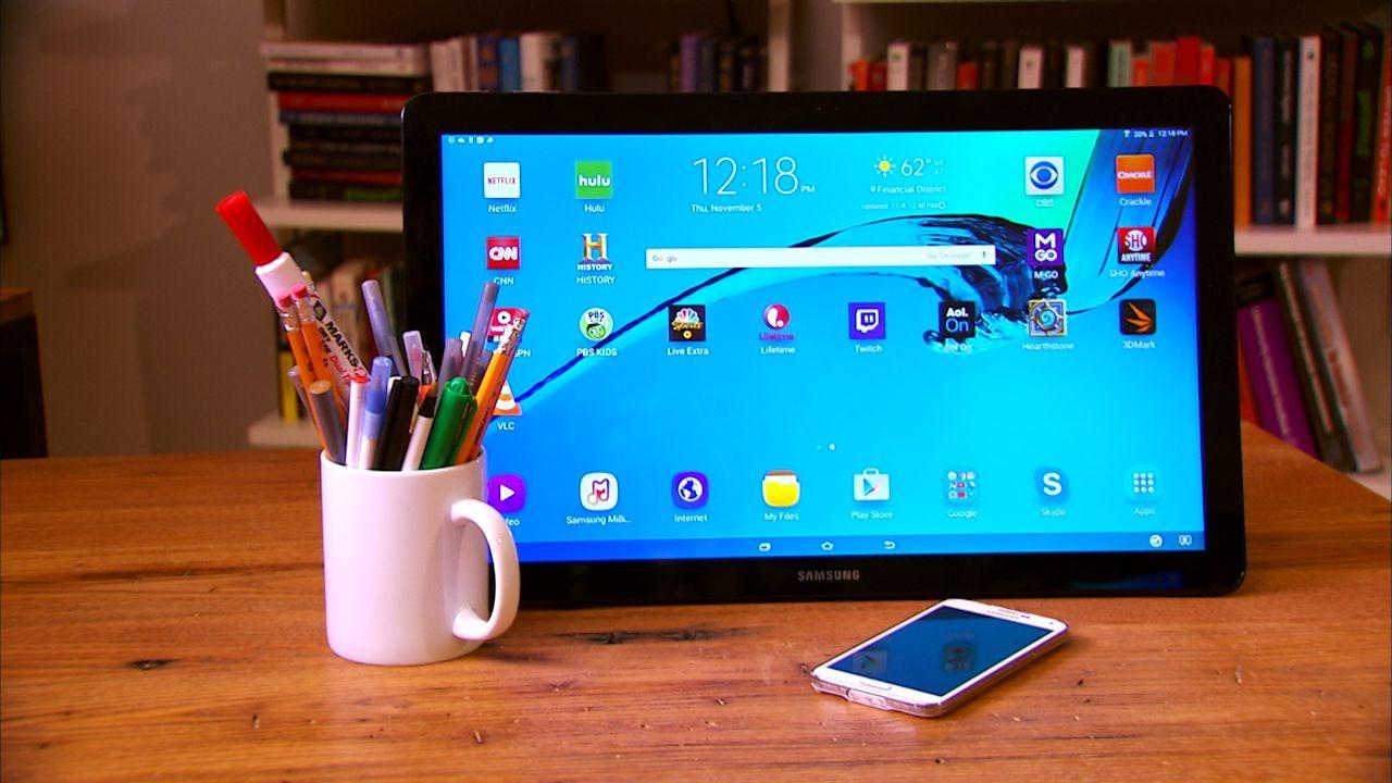 Рендеры 17,5-дюймового планшета Samsung Galaxy View 2