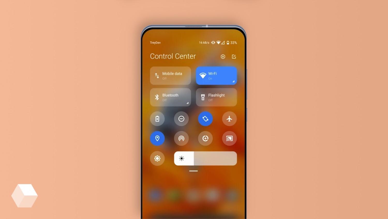 Приложение Mi Control Center придаёт панели уведомлений дизайн iOS