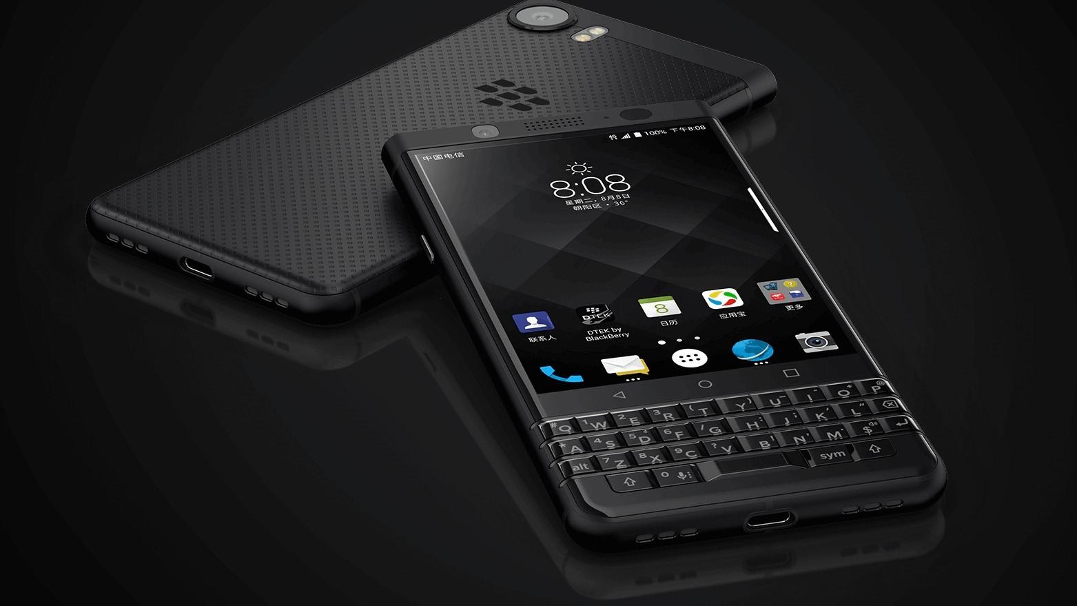 Новый смартфон BlackBerry Athena появился на рендерах