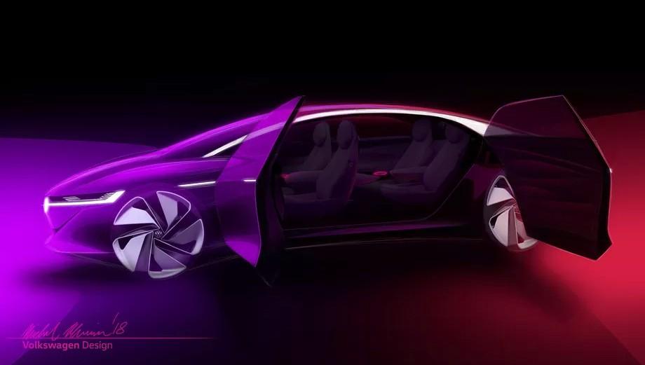 Volkswagen показала концепт самоуправляемого электрокара