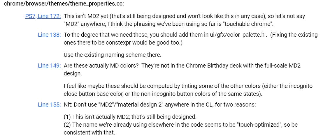 Google Chrome получит интерфейс в стиле Material Design 2 в этом году2