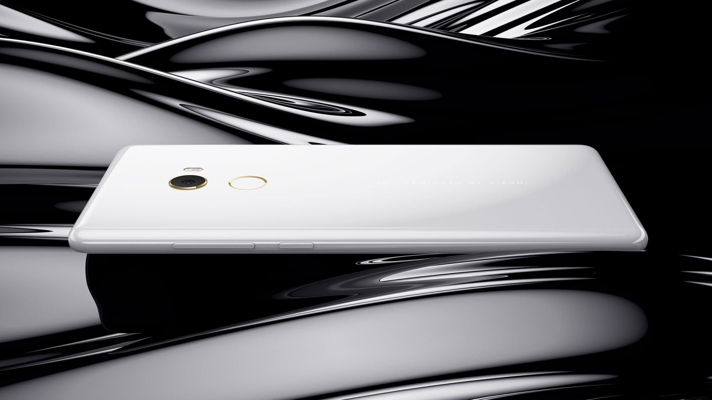 Mi MIX 2 в белом керамическом корпусе доступен для покупки
