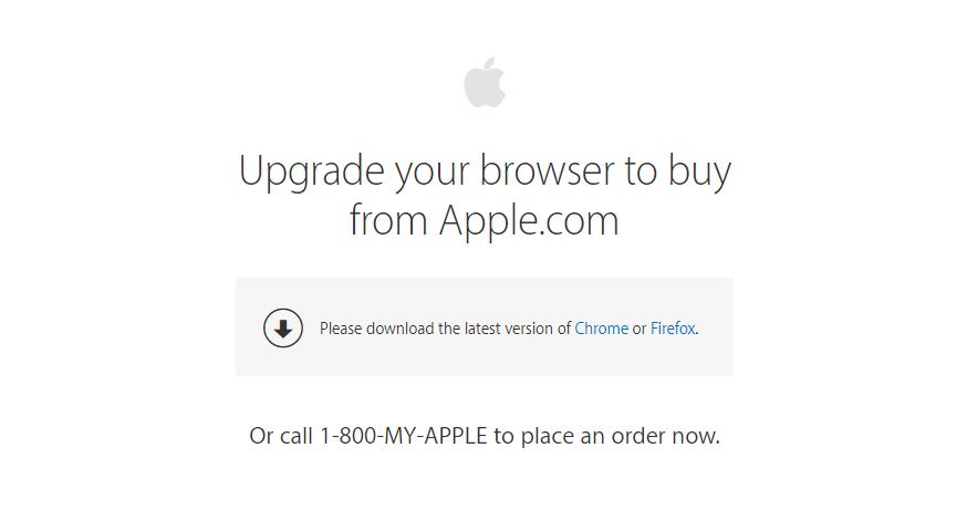 Apple закрыла доступ к интернет-магазину для старых версий macOS1