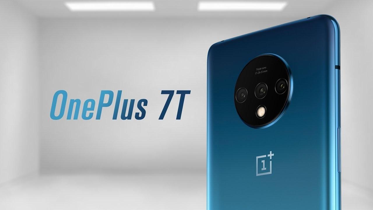 Сравнение характеристик OnePlus 7T с OnePlus 7 и 7 Pro