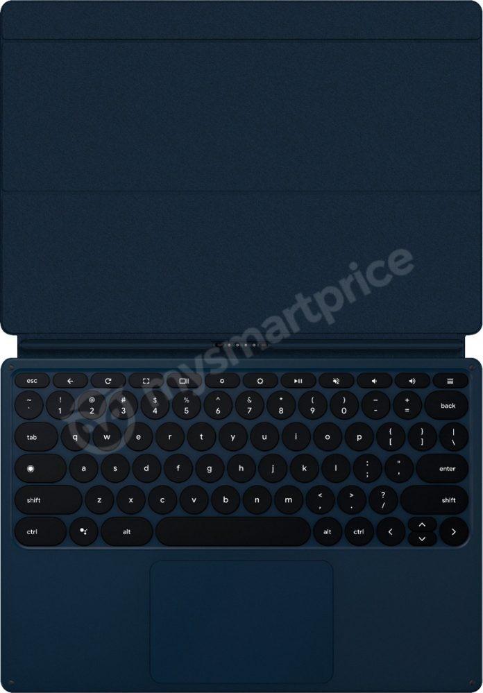 Утекли рендеры планшета Google Pixel Slate2