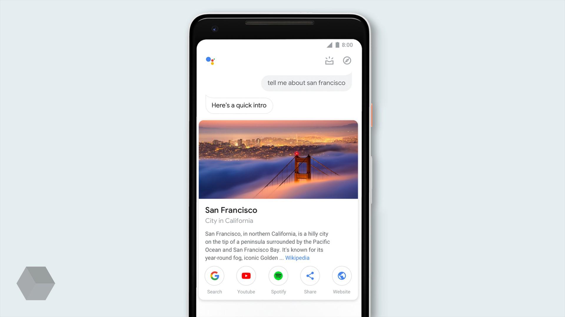 Ассистент Google получил новый дизайн