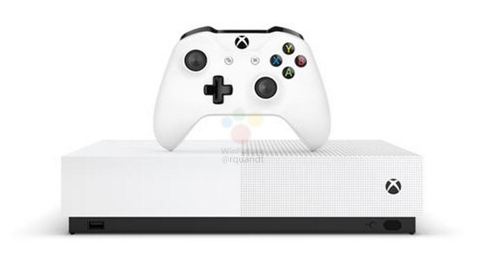 Microsoft перевыпустит консоль Xbox One S без оптического привода2