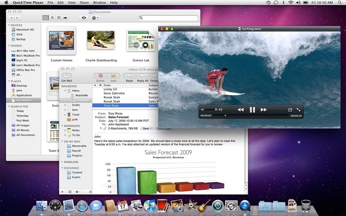 История развития и стандартные обои со всех версий macOS14