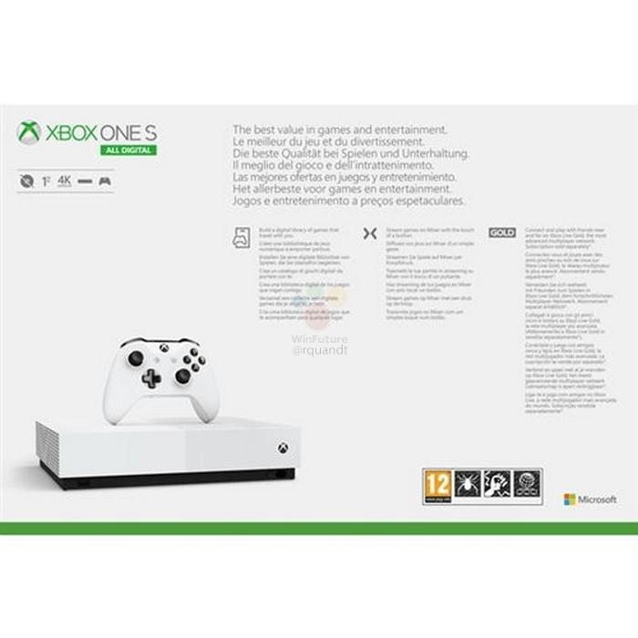 Microsoft перевыпустит консоль Xbox One S без оптического привода7