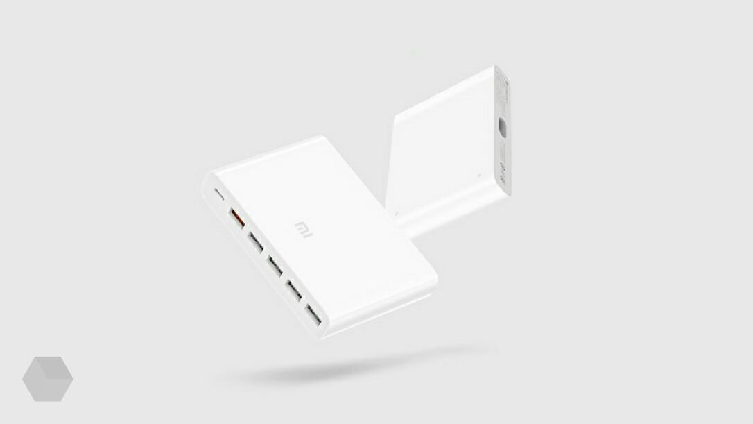 Xiaomi представила зарядное устройство с шестью портами