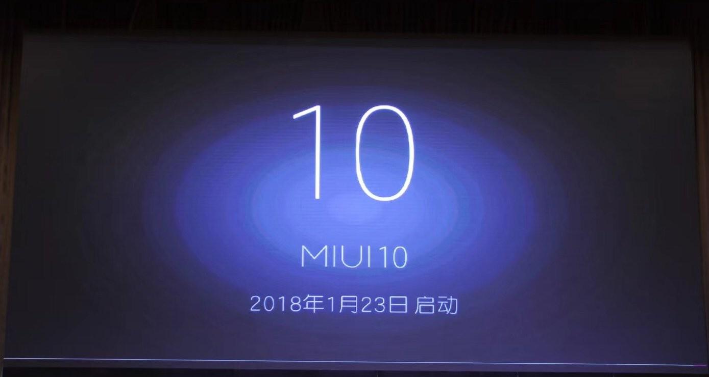 Xiaomi официально начали разработку MIUI 10