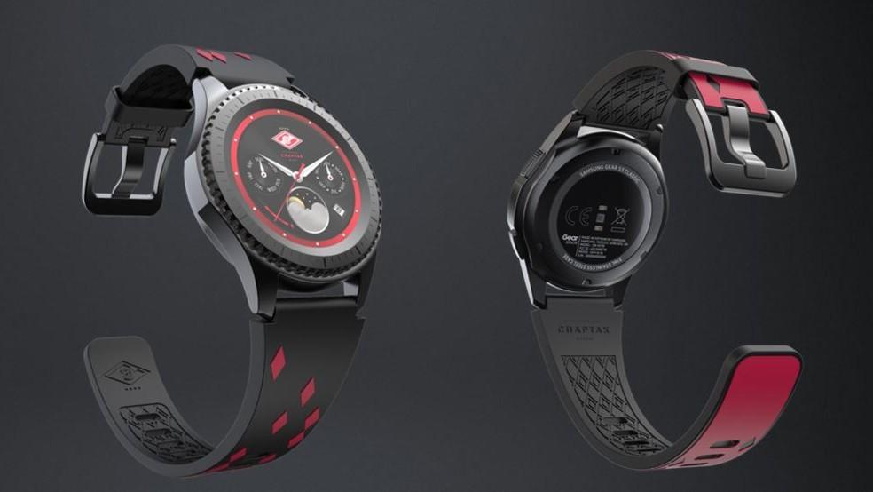Samsung представила футбольную версию часов Gear S3 Spartak Edition