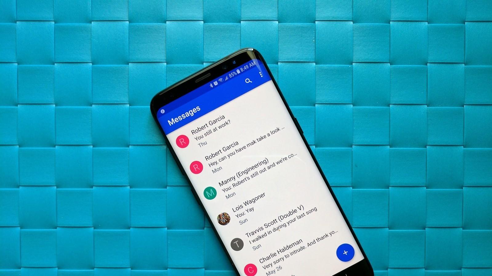 Приложение «Android Сообщения» научилось копировать код двухфакторной аутентификации