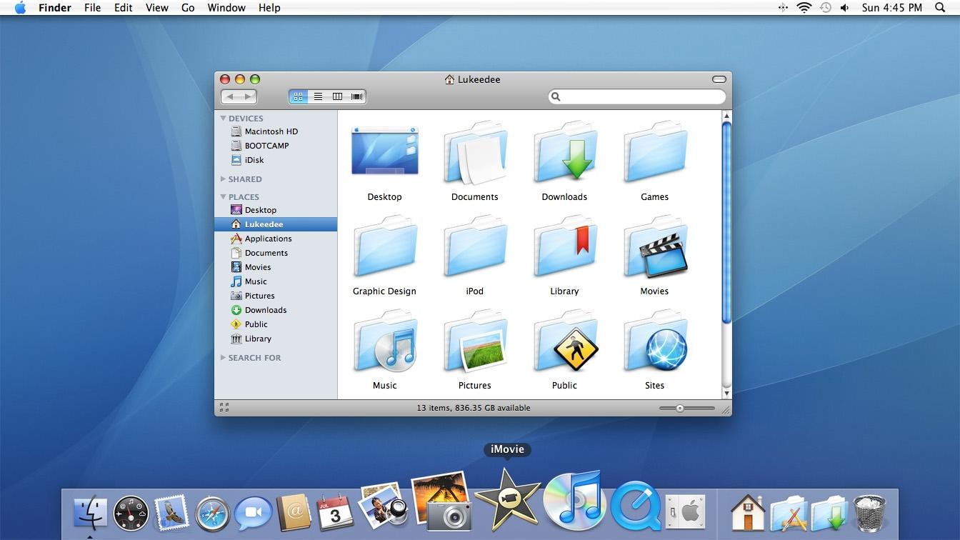 История развития и стандартные обои со всех версий macOS12