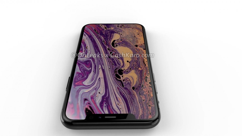Рендеры iPhone 2019 года с камерой в форме треугольника2