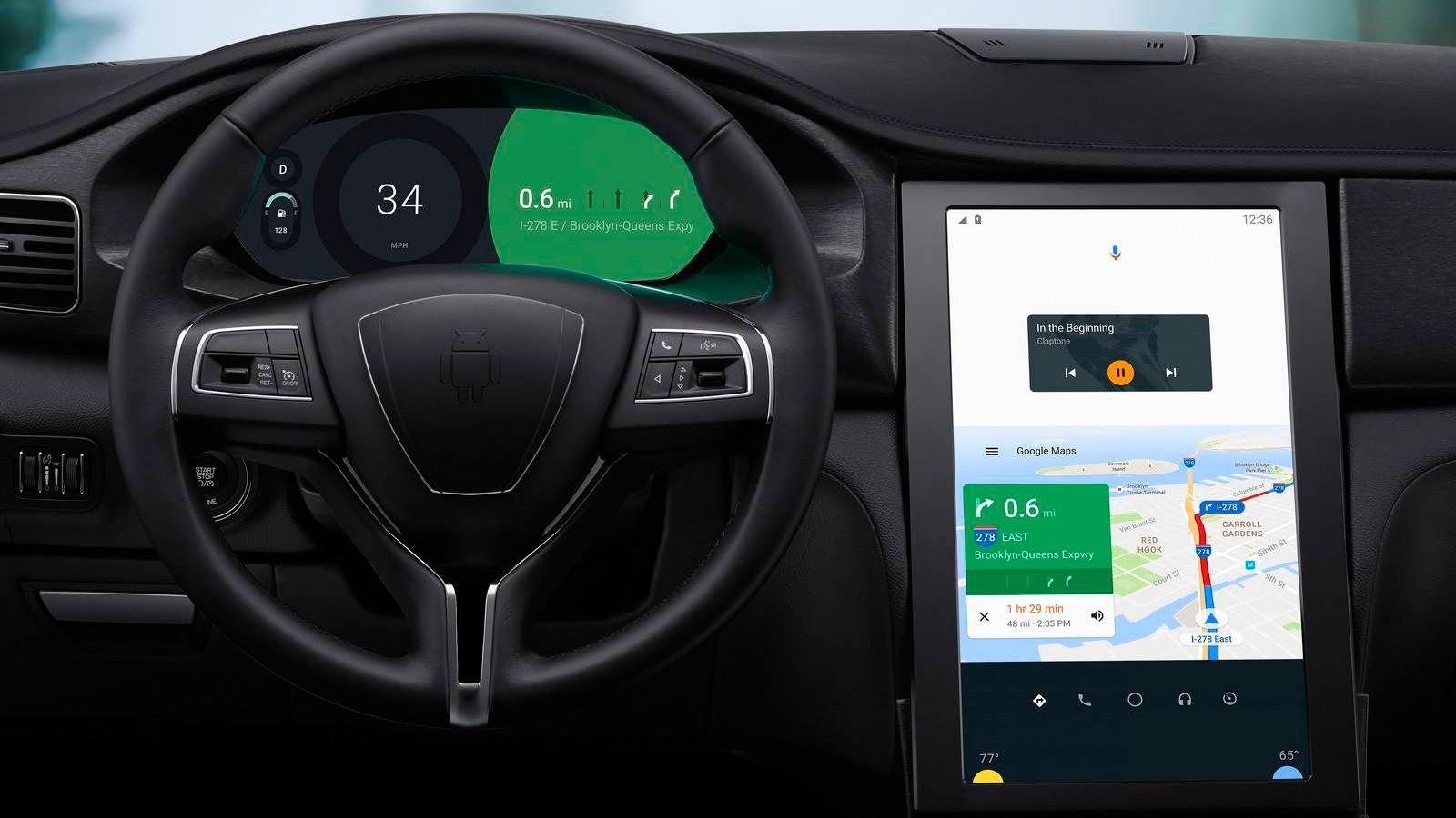 Android Auto получила доступ к полному списку контактов