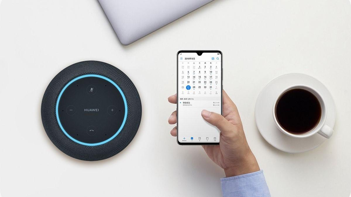 Huawei представила ИИ-колонку с дизайном Apple HomePod