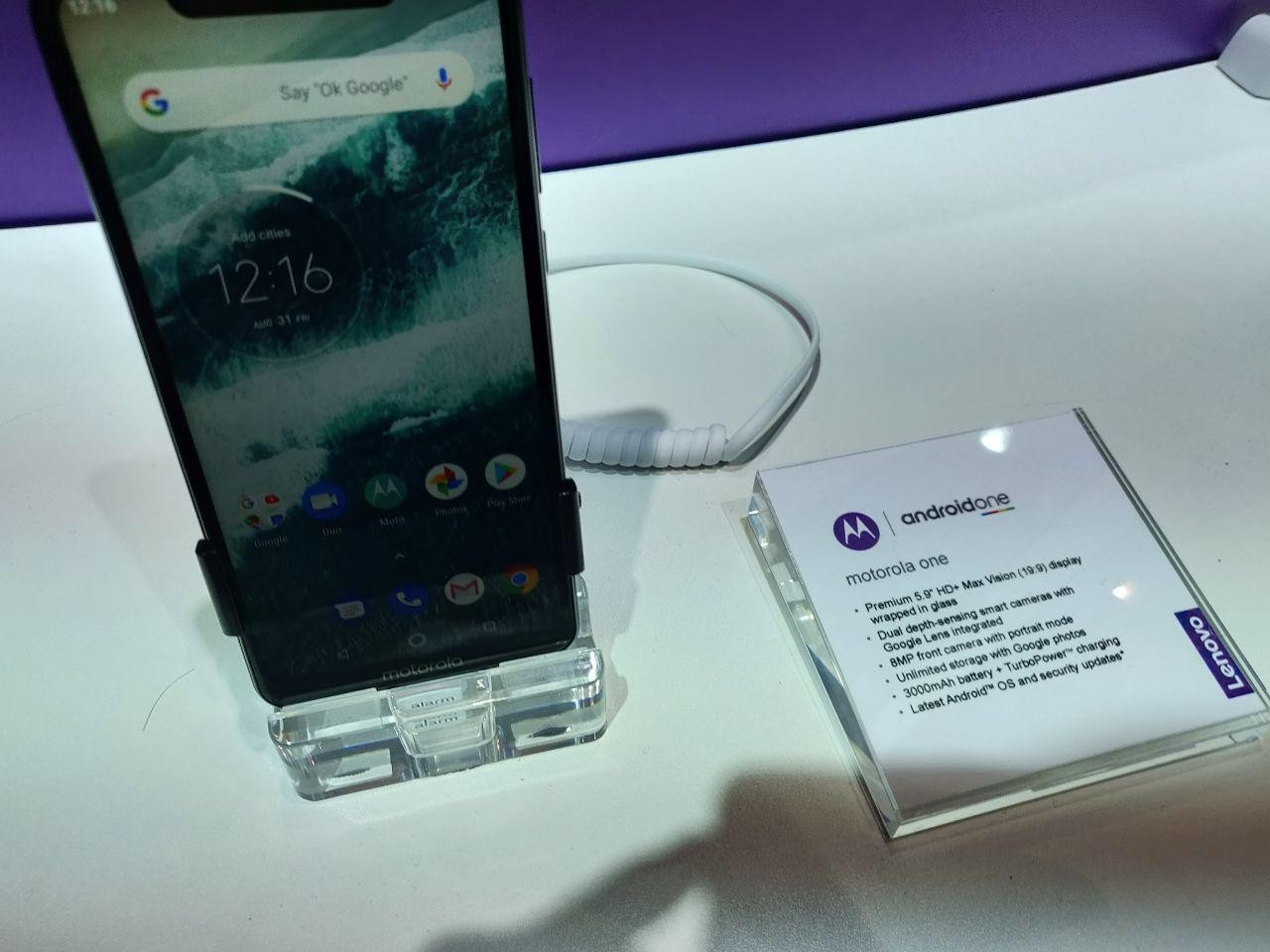 Motorola One и One Power—первые смартфоны бренда на Android One3