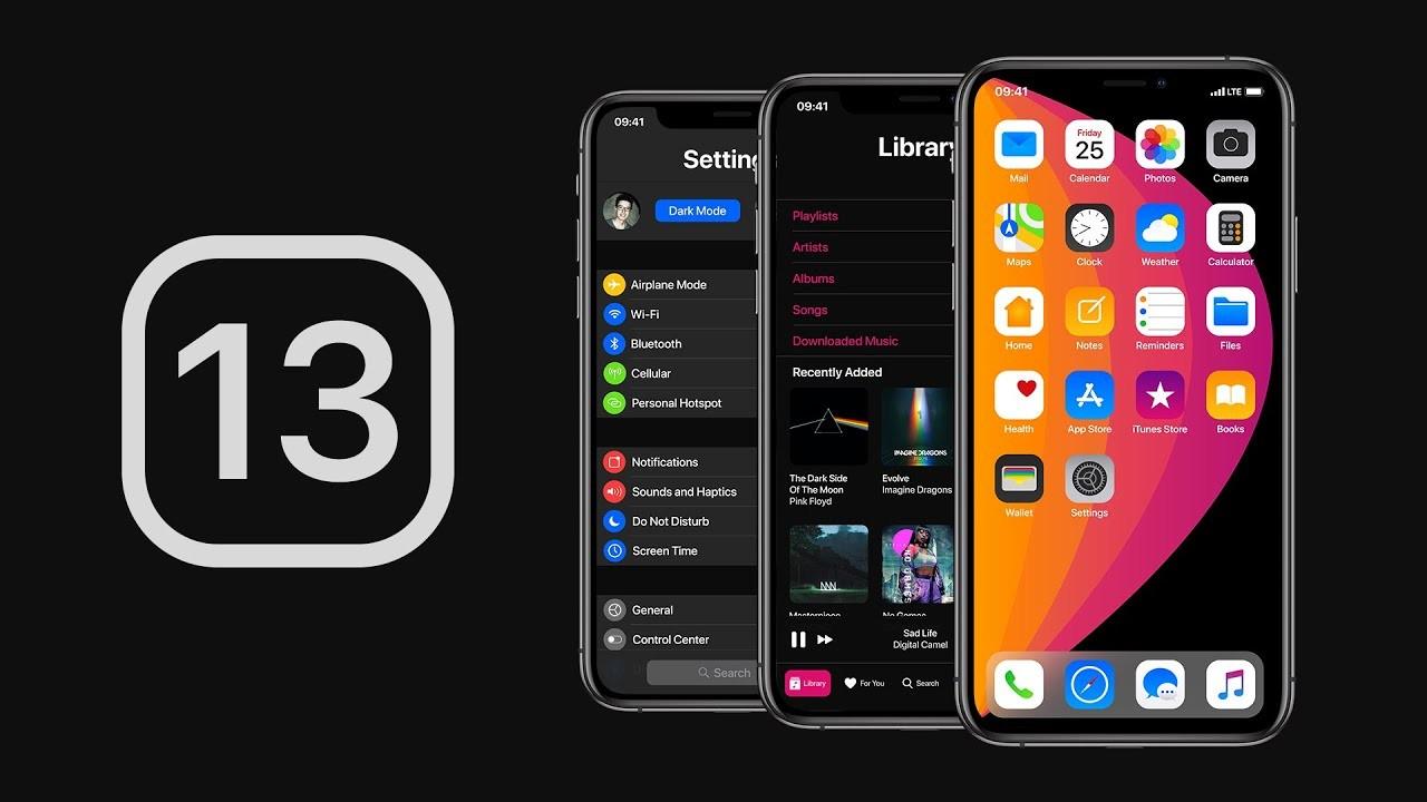 iOS 13: тёмный режим, умная «Почта» и новые жесты