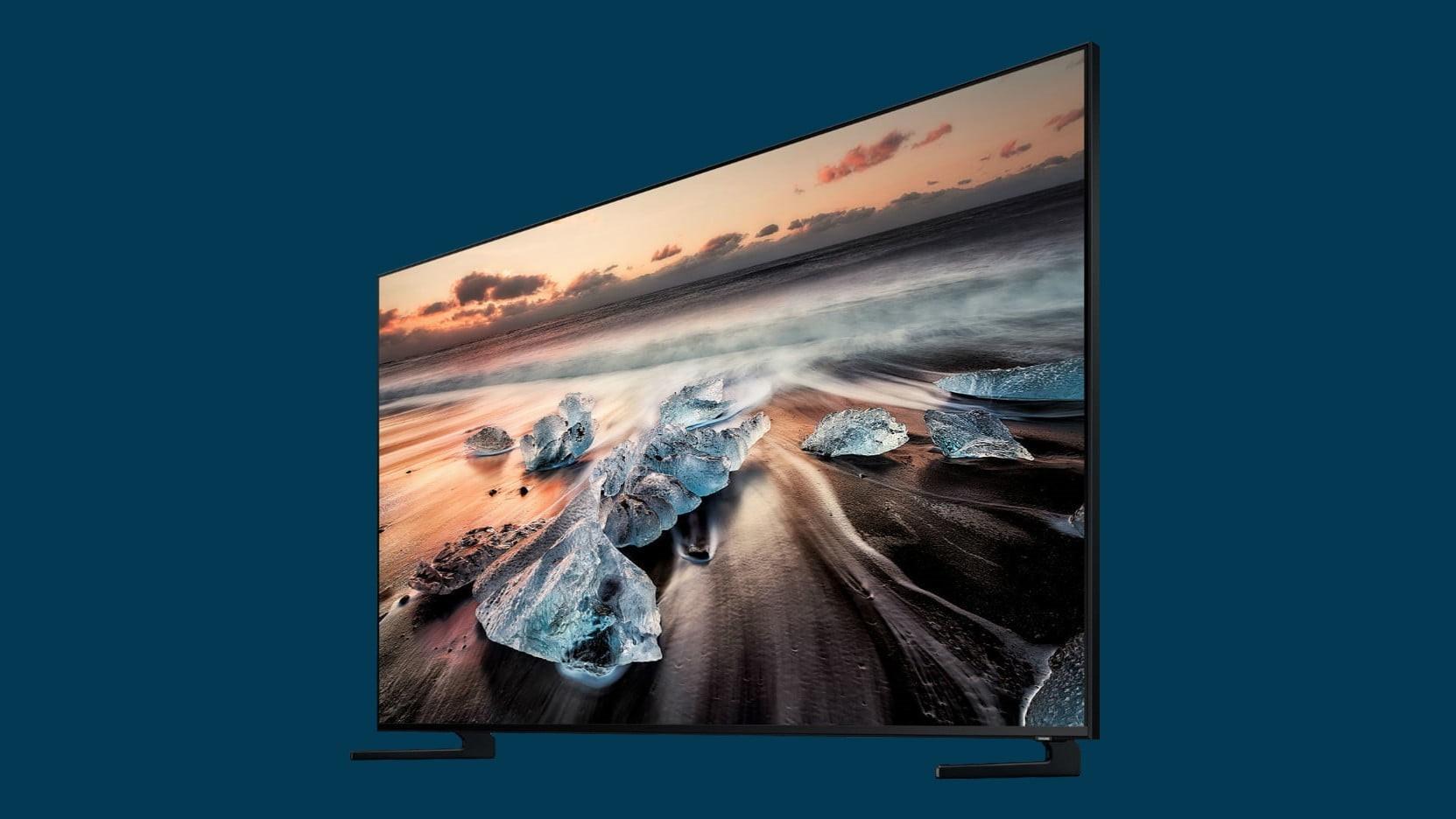 Первый QLED 8K TV от Samsung появится в магазинах в сентябре