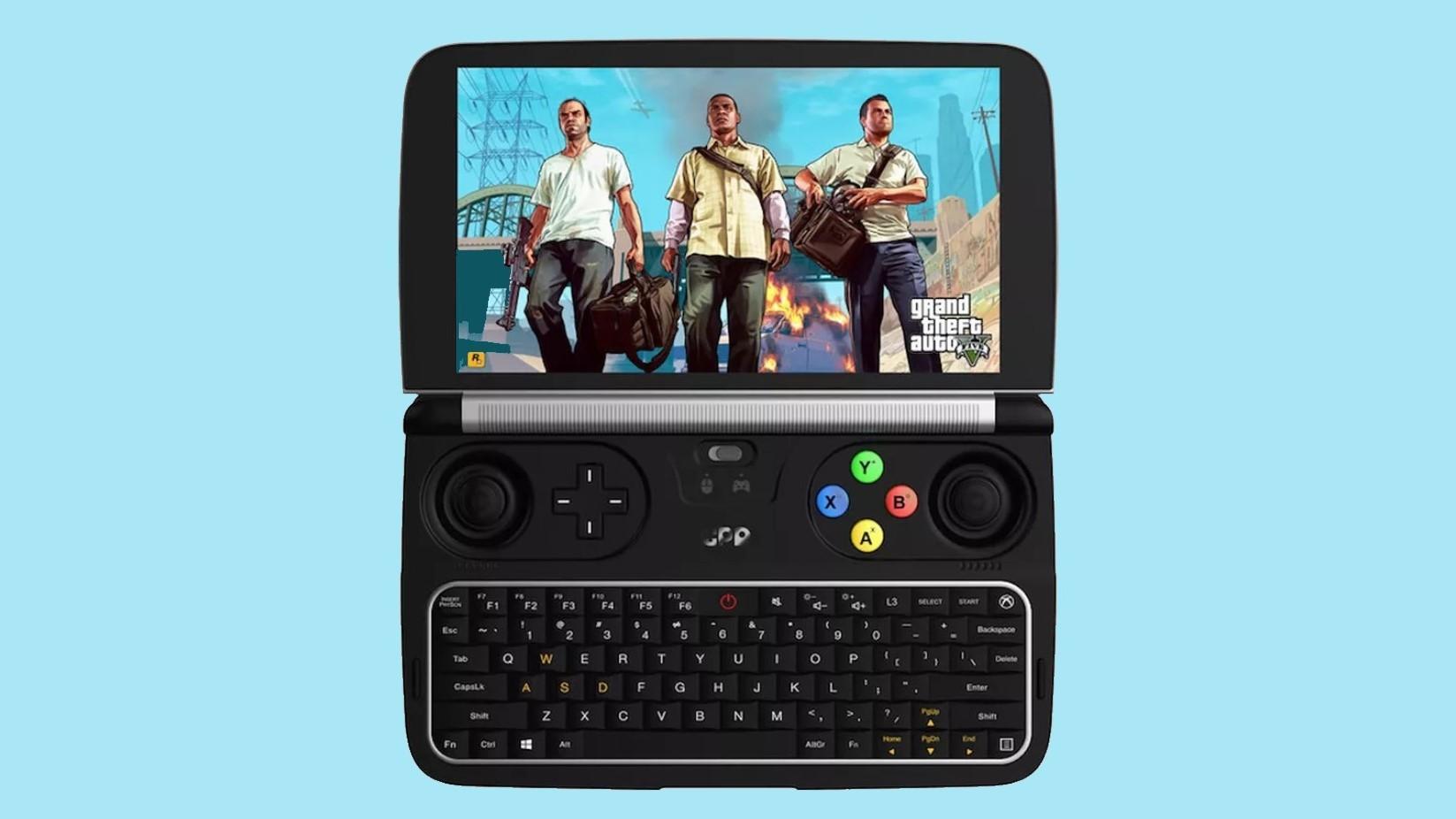 Карманная игровая консоль, на которой работает GTA V