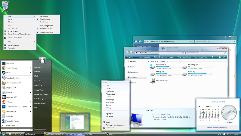 История развития и стандартные обои операционной системы Windows10