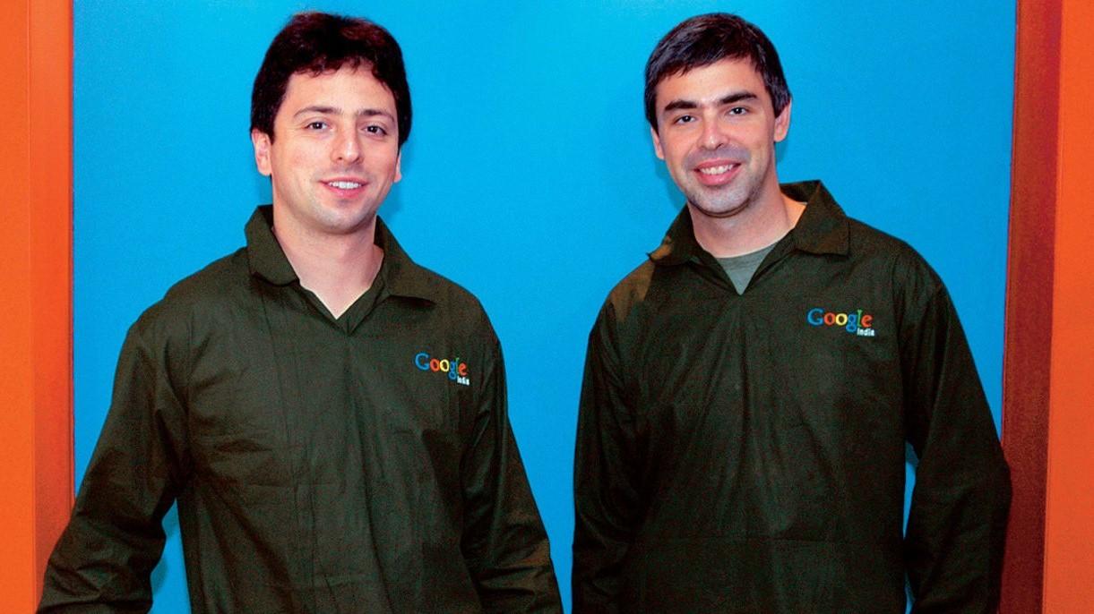 Основатели Google Ларри Пейдж и Сергей Брин покинули руководство материнского холдинга
