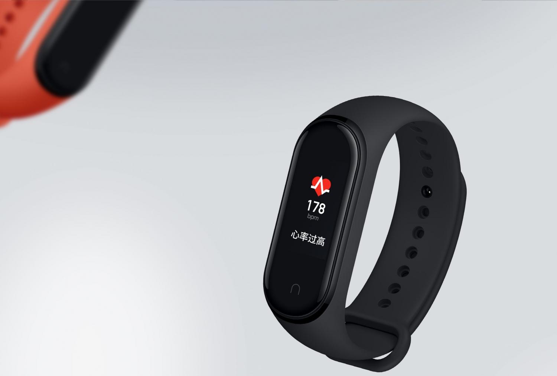 Xiaomi официально представила умный браслет Mi Band 4 с NFC5