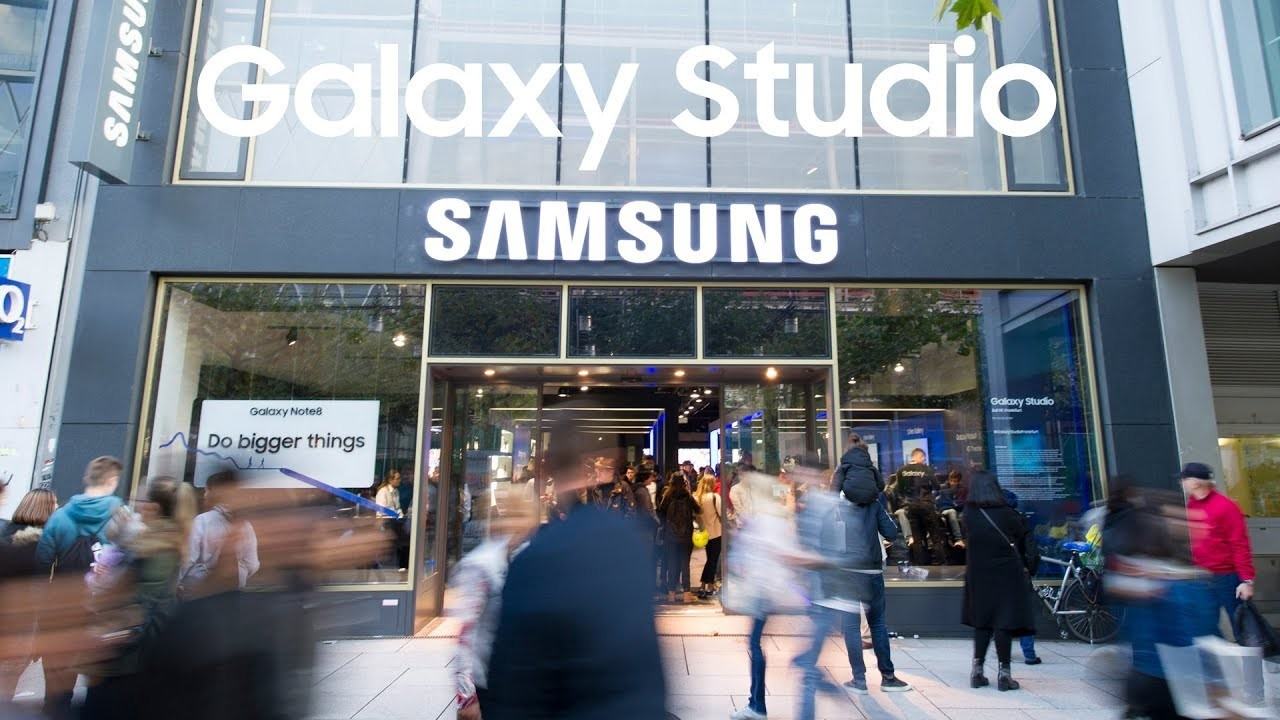 Samsung откроет Galaxy Studio в парке Горького