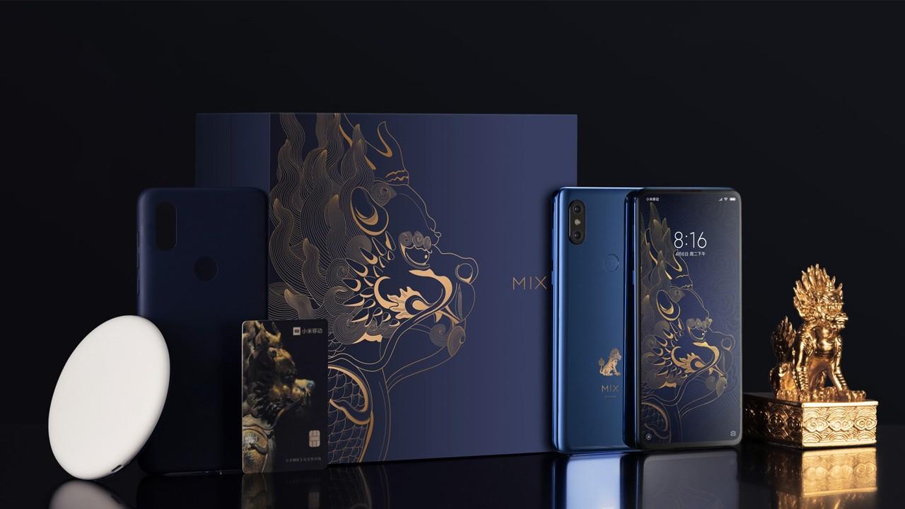Xiaomi Mi MIX 3 Forbidden City Edition поступит в продажу в декабре