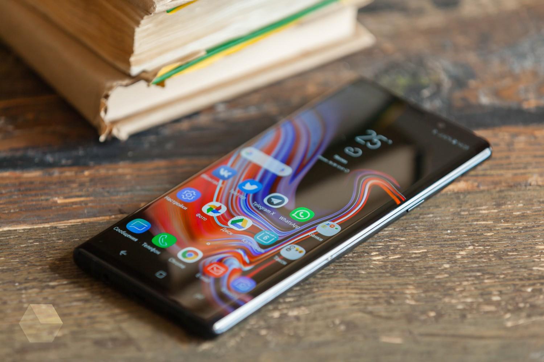 Первый обзор Samsung Galaxy Note 99