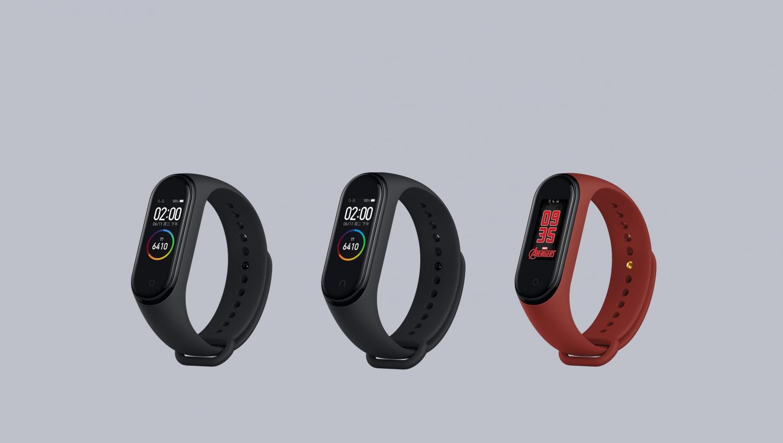 Xiaomi официально представила умный браслет Mi Band 4 с NFC8