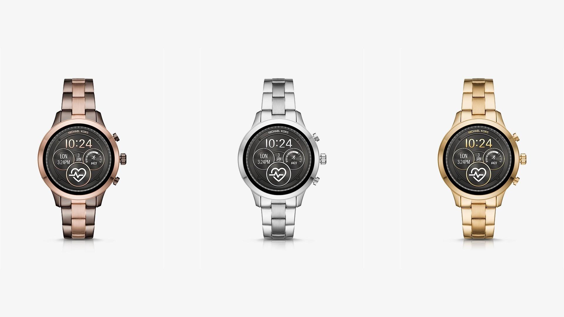Michael Kors Access Runway: смарт-часы для спорта от модного дизайнера
