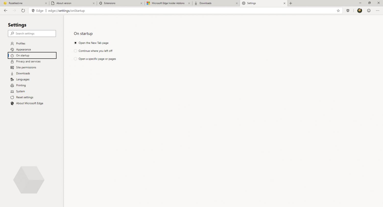 Первый взгляд на Microsoft Edge на основе Chromium8