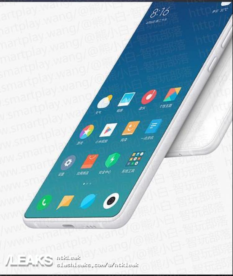 Слух: фронтальная камера Xiaomi Mi Mix 3 будет выезжать из корпуса3