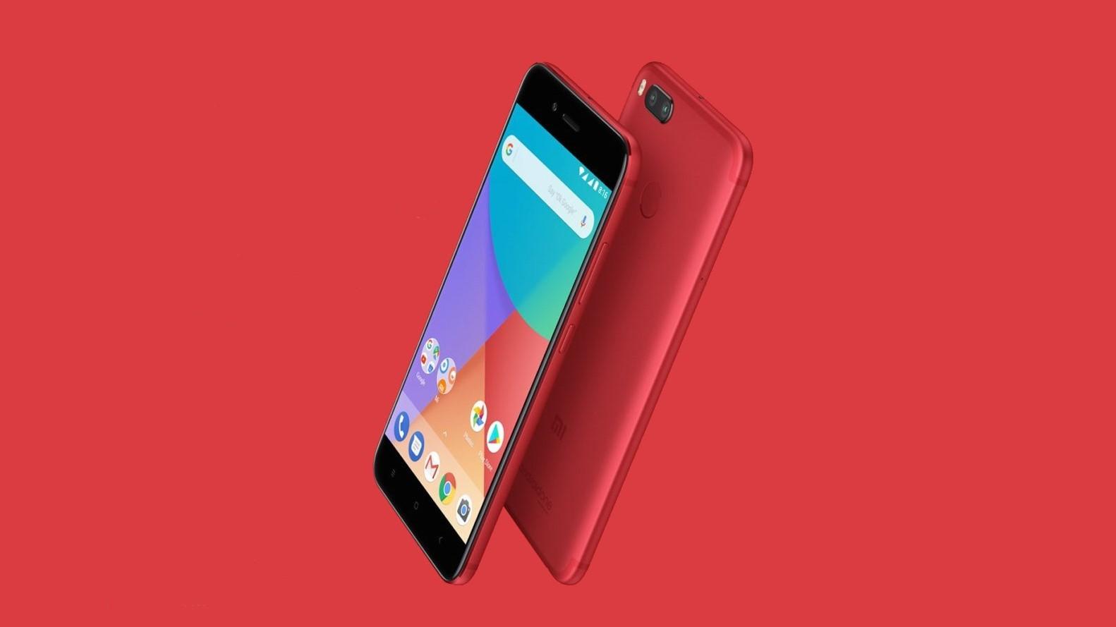 Ограниченная серия Xiaomi Mi A1 Red начала продаваться в России
