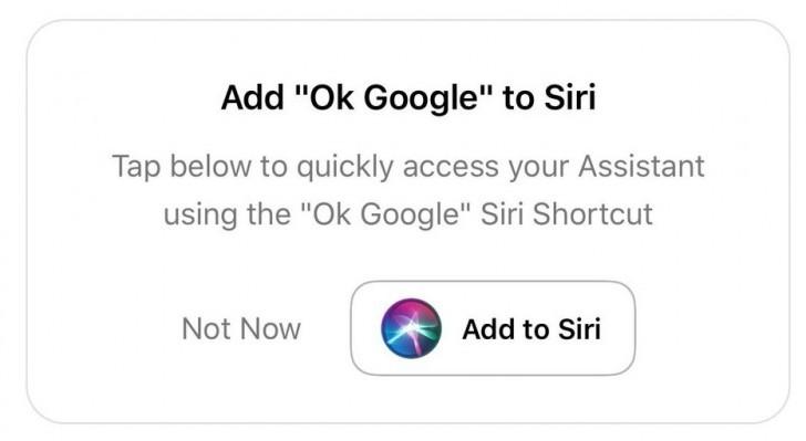 Команда «Окей, Google» теперь работает и в iOS1