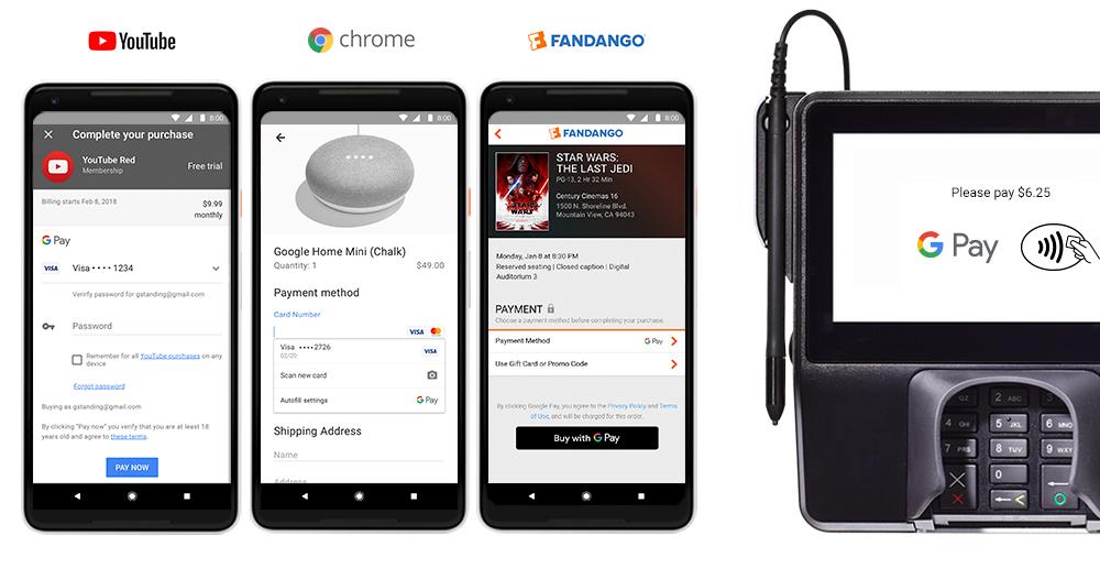 Google объединила Android Pay и Google Wallet в один сервис1