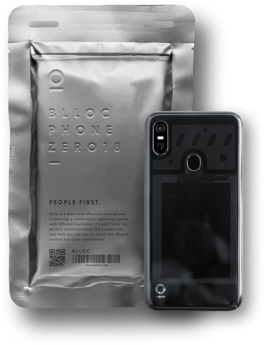BllocZero18: смартфон с монохромным Android Oreo4