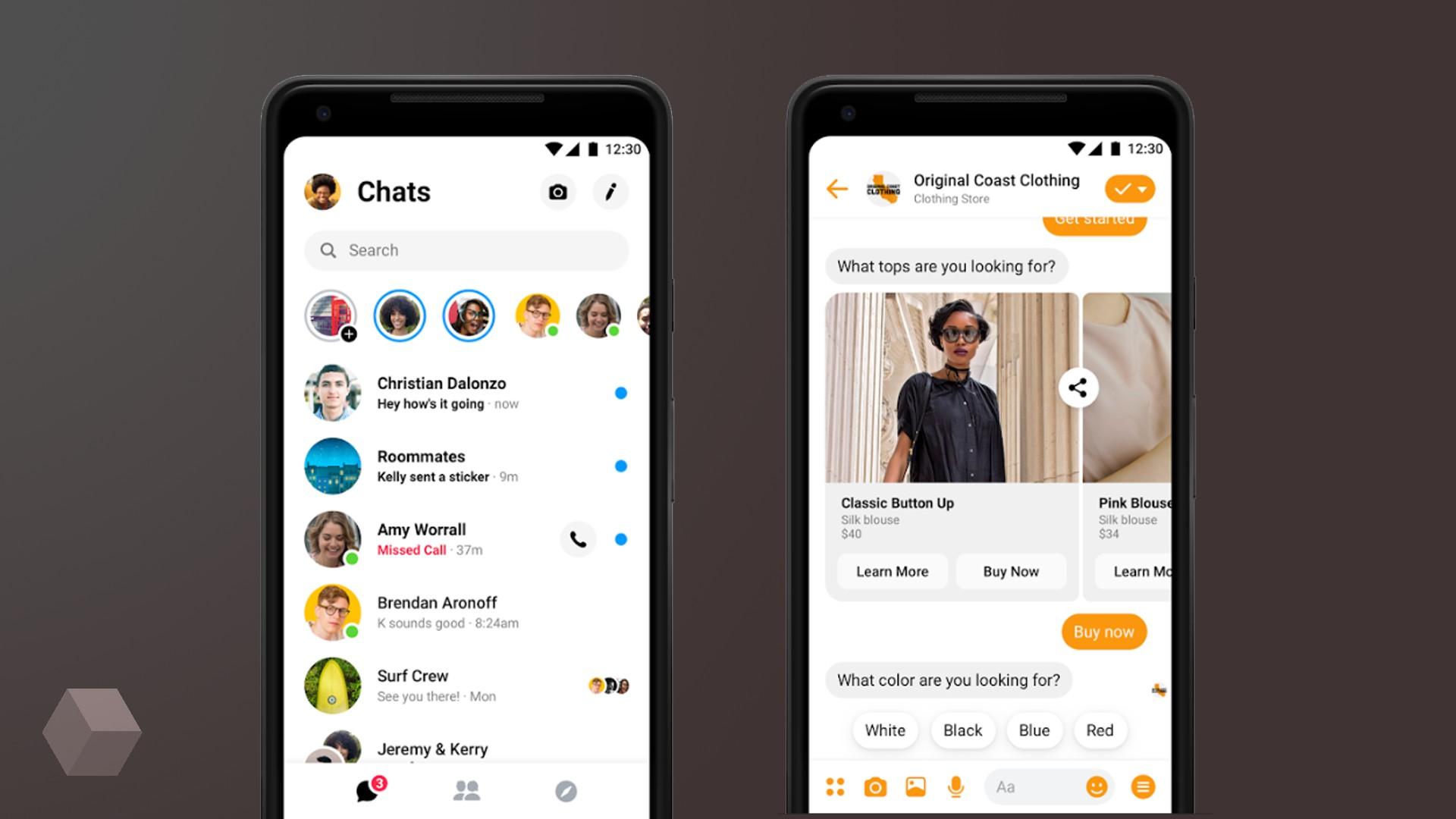 Facebook Messenger получает крупное обновление