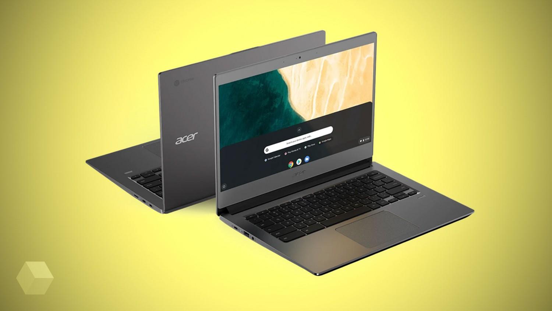 Две новинки на Chrome OS от Acer — Chromebook 715 и 714