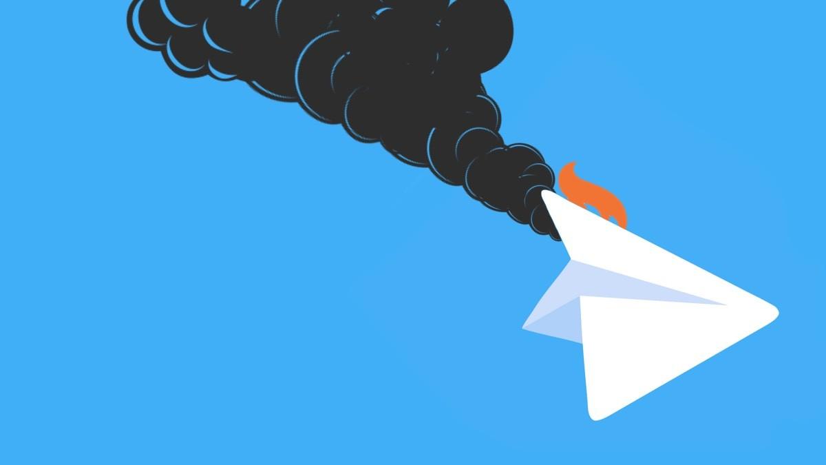 В работе Telegram произошел сбой по всему миру