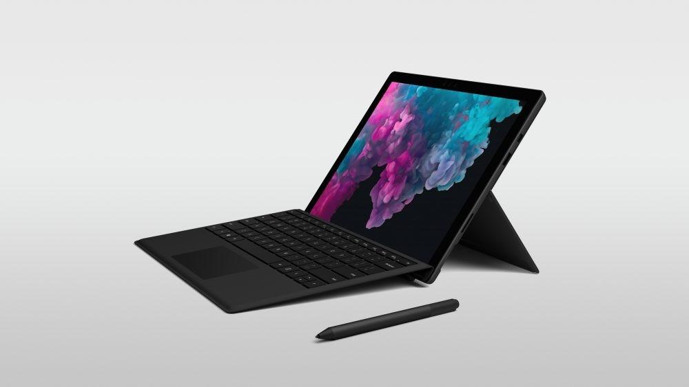 Microsoft Surface Pro 6 получил чёрный корпус и новые процессоры3