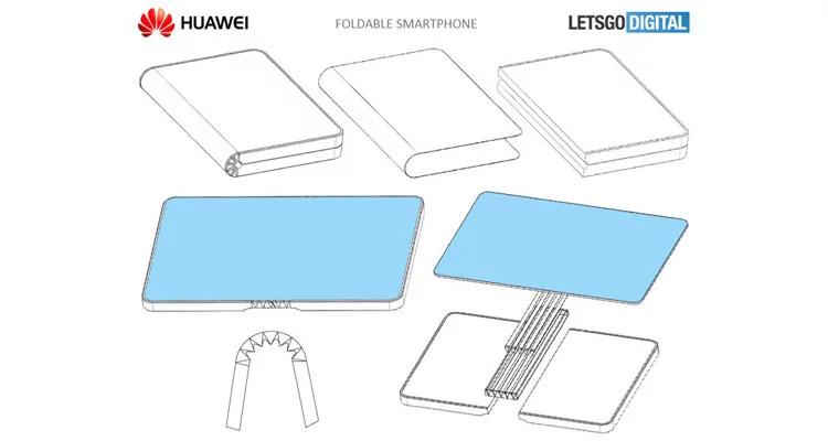 Huawei выпустит первый складной смартфон1