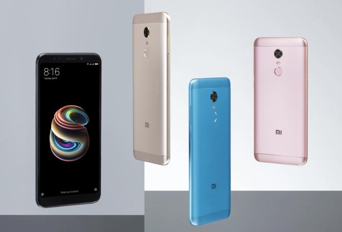 Две новинки Xiaomi — Redmi Note 5 и 5 Pro1