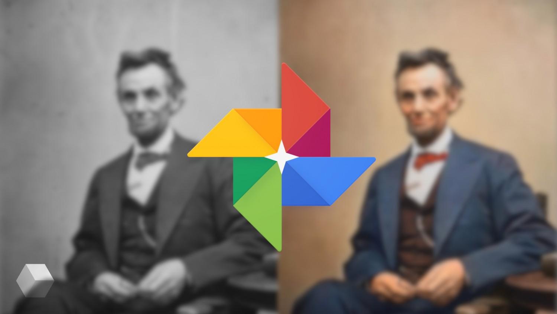 Как работает функция по воссозданию цветного фото из чёрно-белого от Google